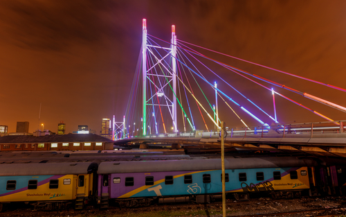 Nelson Mandela Bridge Johannesburg South Africa Africa African Travel Specialists