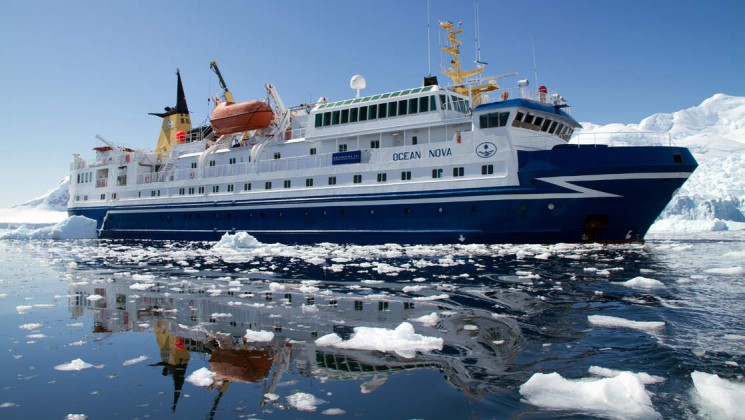 Ocean Nova Antarctic Cruise Luxury cruising Antarctica Fly Cruise Antarctica Antarctic Travel Specialists