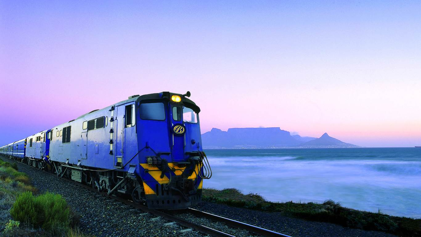 Blue Train Luxury Train Travel South Africa Cape Town  Pretoria Africa African Travel Specialists