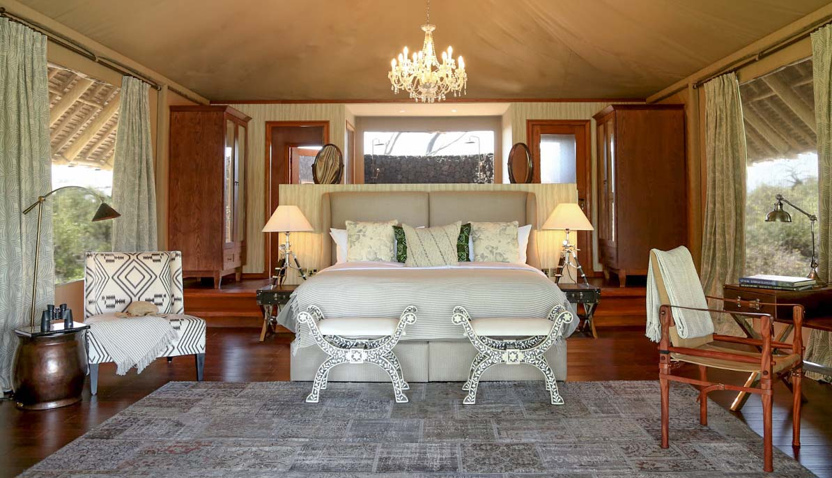 Finch Hattons Luxury Camp Cows Antelope Luxury Tented Safari Tsavo West National Park Kenya Africa African Travel Specialists