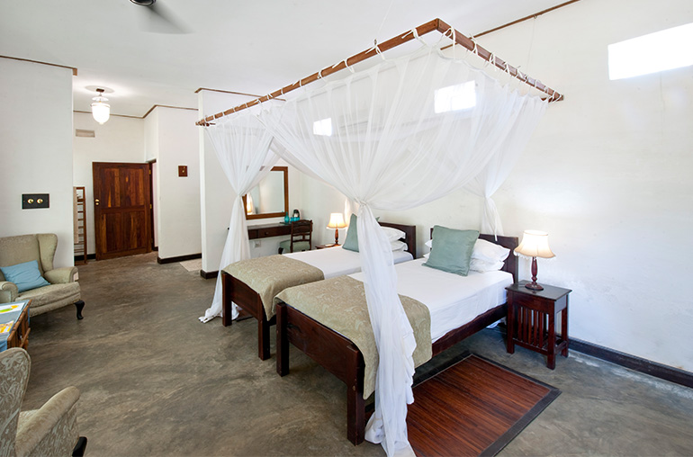 ibo island lodge twin room africa mozambique african travel specialists