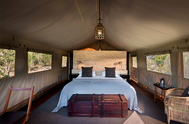 Africa African Travel Specialists Botswana Botswana Fly-in Safari Khwai Tented Camp