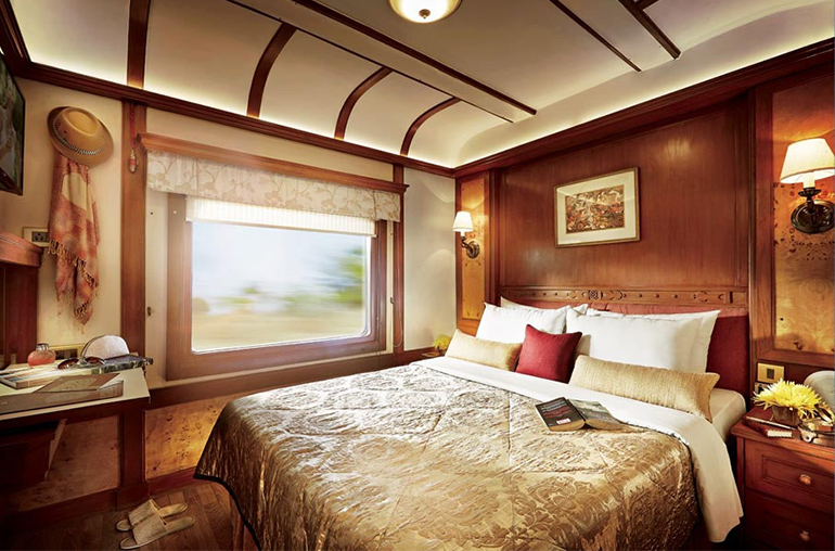 deccan odyssey room interior india train travel india tours and travel specialists