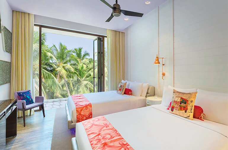 W hotel Goa beach India tours and travel specialists