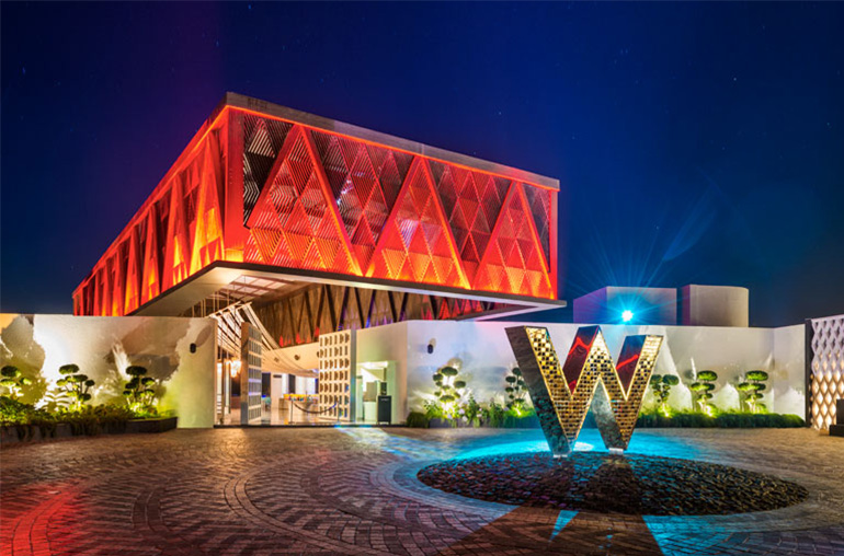 W hotel goa india beach india tours and travel specialists