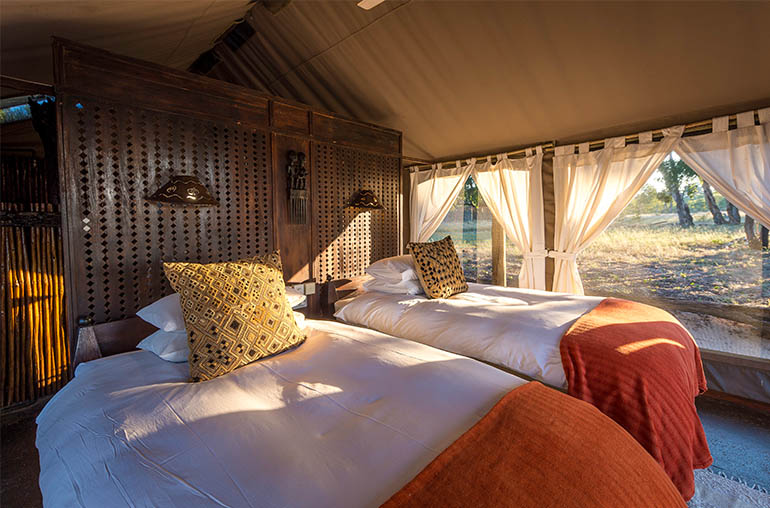 Davison's camp  hwange national park zimbabwe africa african travel specialists