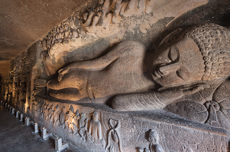 Ajanta Caves near Aurangabad India Tours and Travel Specialists Deccan Odyssey