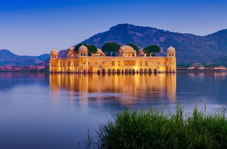 Jal Mahal  India Tours and Travel Specialists Opulent India