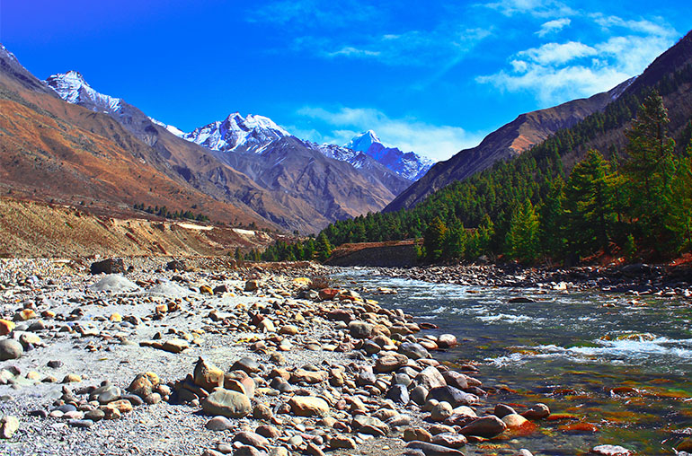 Valley of Chitkul, Sangla, Kinnar, Himachal, India India tours and travel specialists