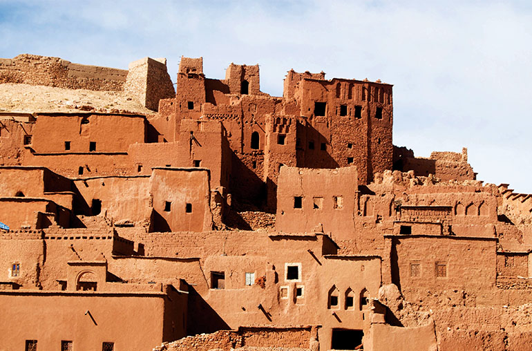 Morocco Houses in Berber Village Africa