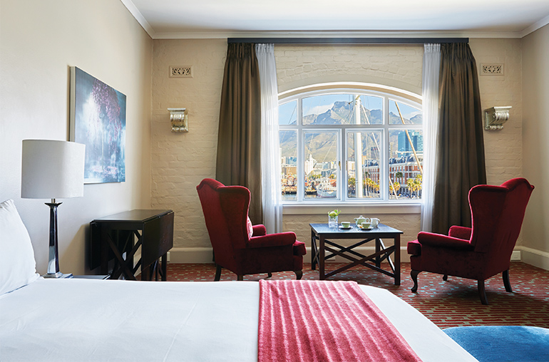 Victoria & Alfred Hotel Mountain Room South Africa Cape Town