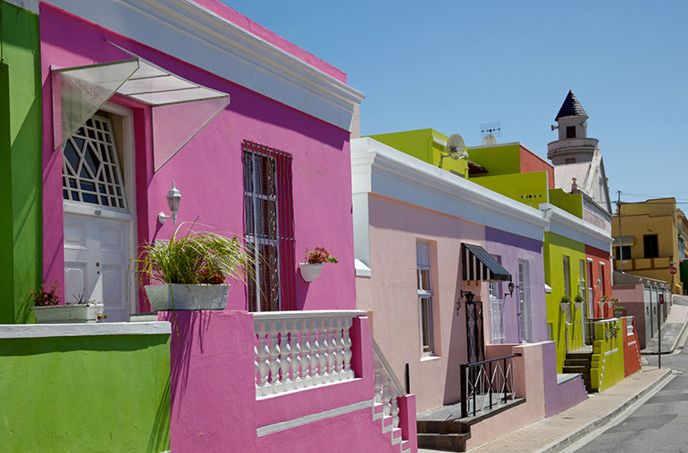 Bo Kaap South Africa Cape Town