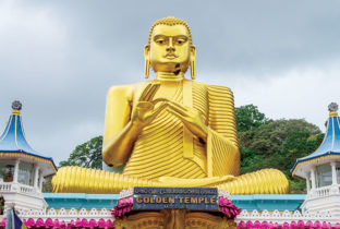 Golden Temple Dambulla Caves Sri Lanka India Tours & Travel Specialists