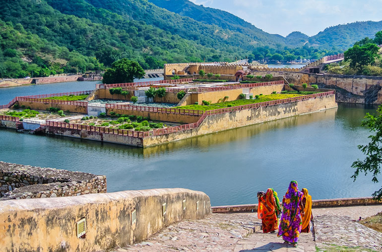 Amber Fort Amer Jaipur India Indian Travel and Tour Specialists Indian Women