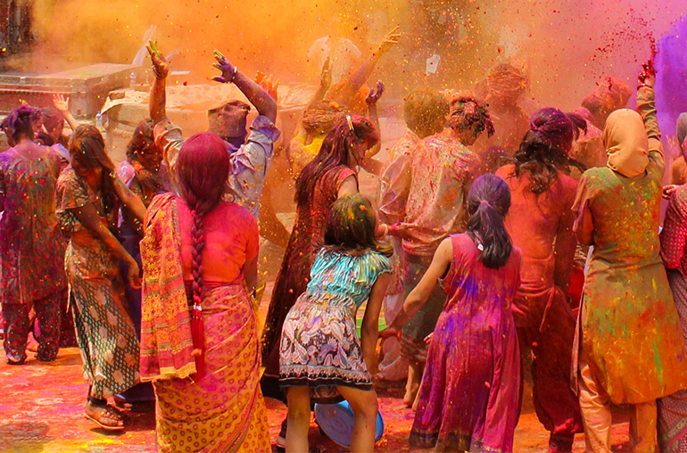 India Holi Festival Escorted Tour