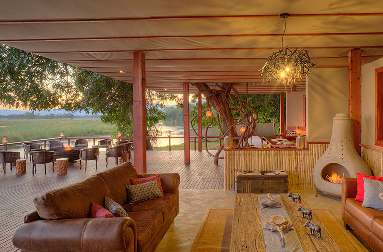 Sausage Tree Camp Lower Zambezi Zambia Africa